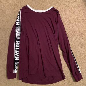 VS Pink Long Sleeve T-shirt